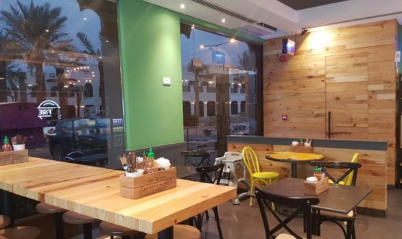 Design & Build Pitfire Pizza Restaurant Interior Fitout Works , ALARGAN Village