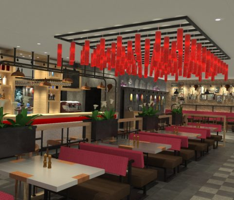 Twist Restaurant (Design only) – Seef Mall