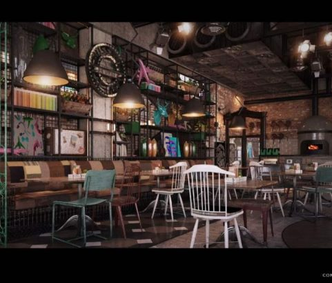 Punk Restaurant Design Concept