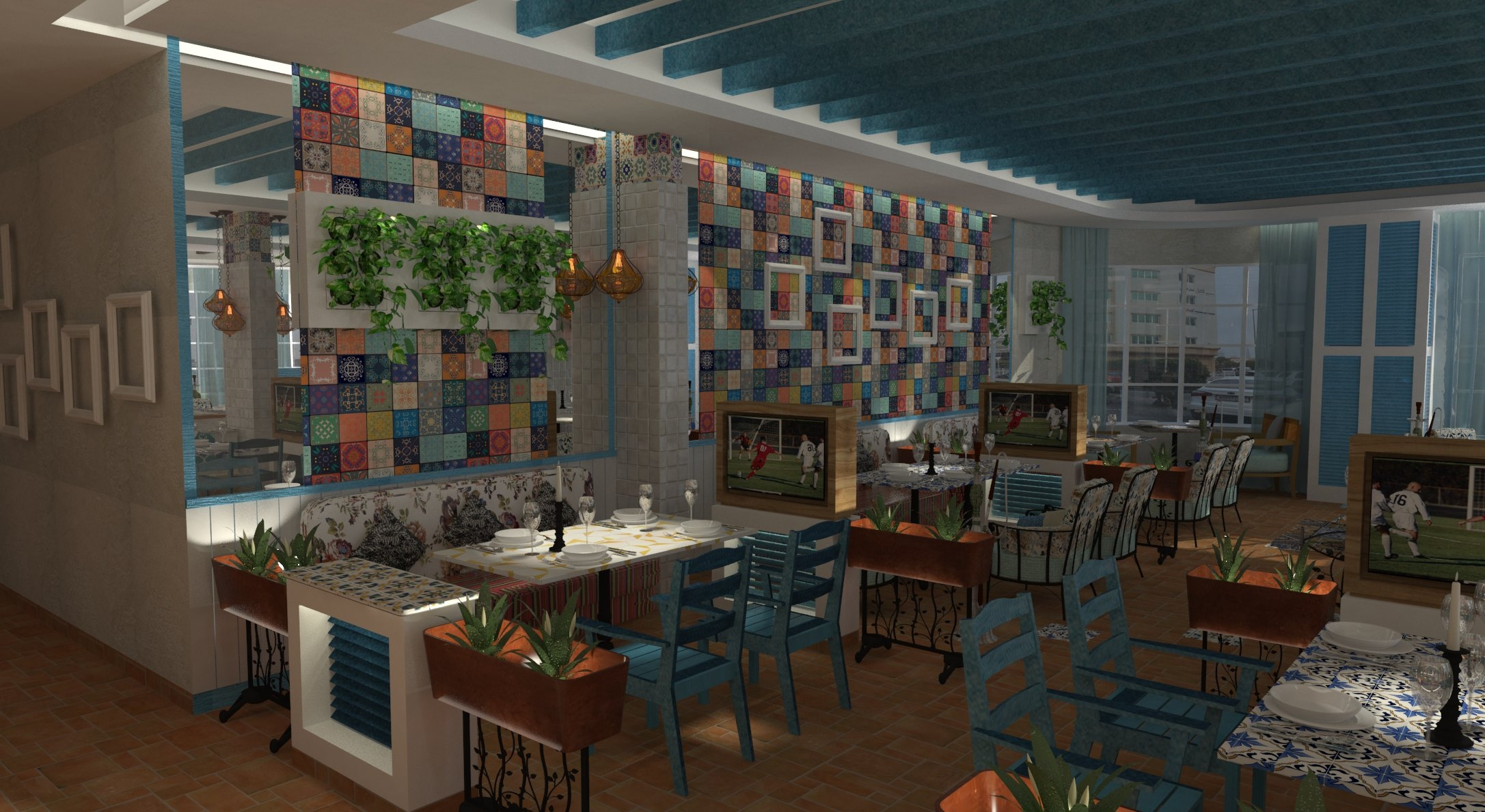 Design of New Restaurant in Zinj