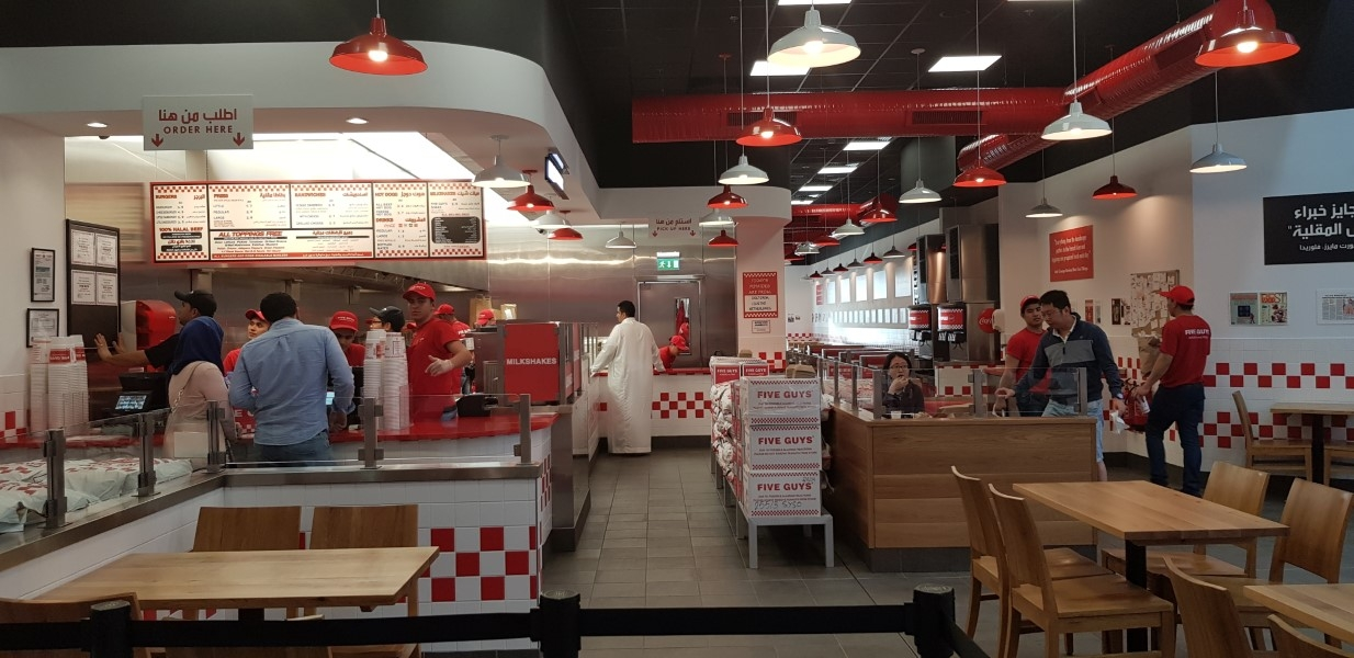 5 Guys -Avenue Mall, Carpentry, SS and Plumbing works