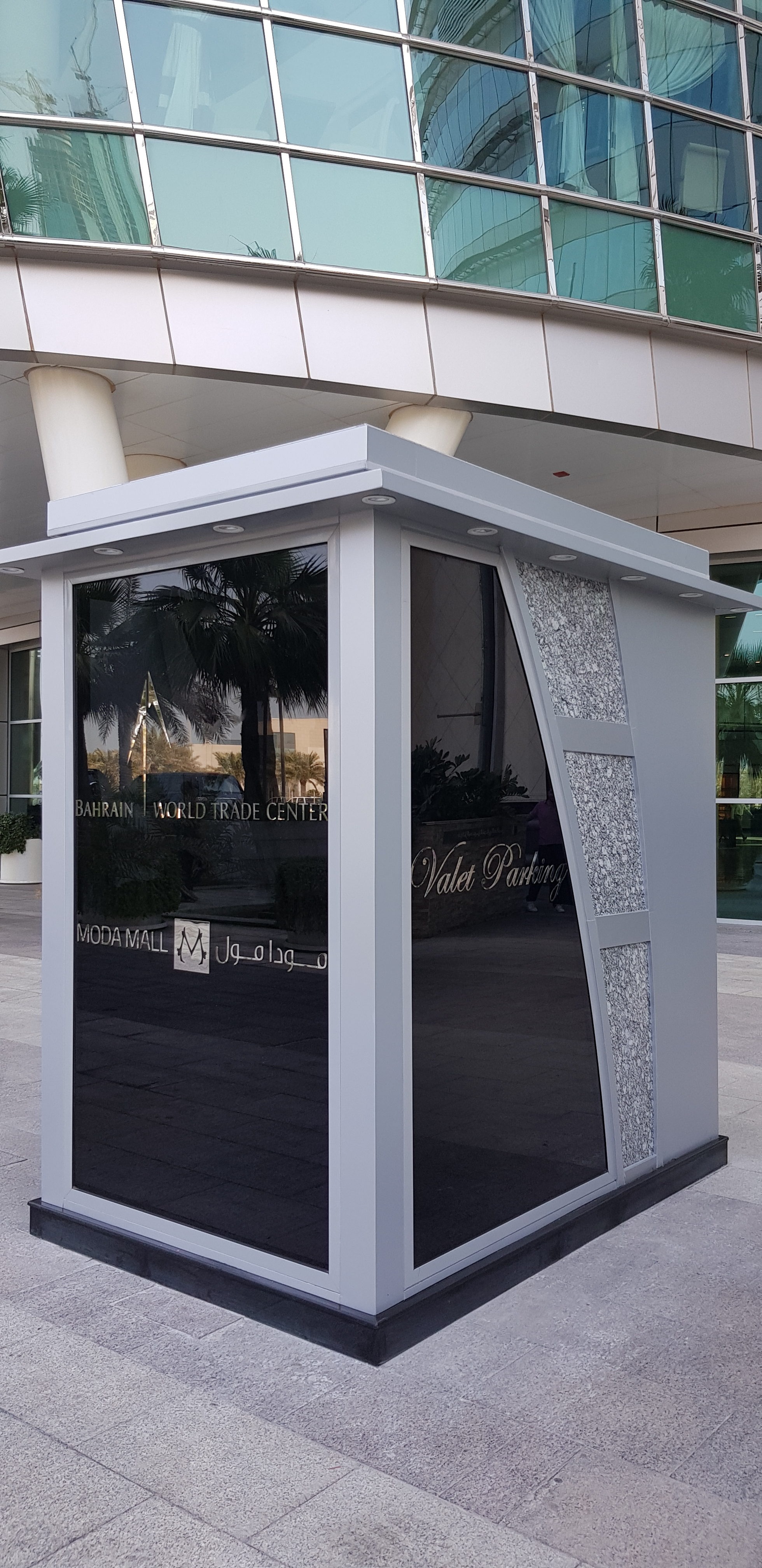 Design & Build Vallet parking Booth for Moda Mall