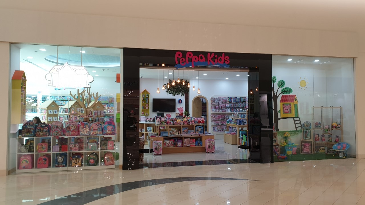 Peppa Kids, Seef Mall - Design and Build Fit out works