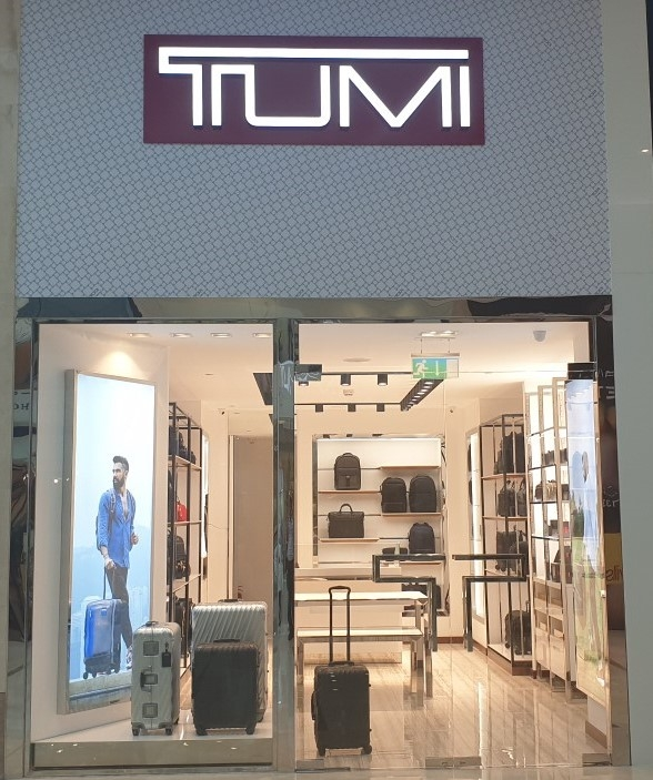 Fitout Works for TUMI at Moda Mall,BWTC