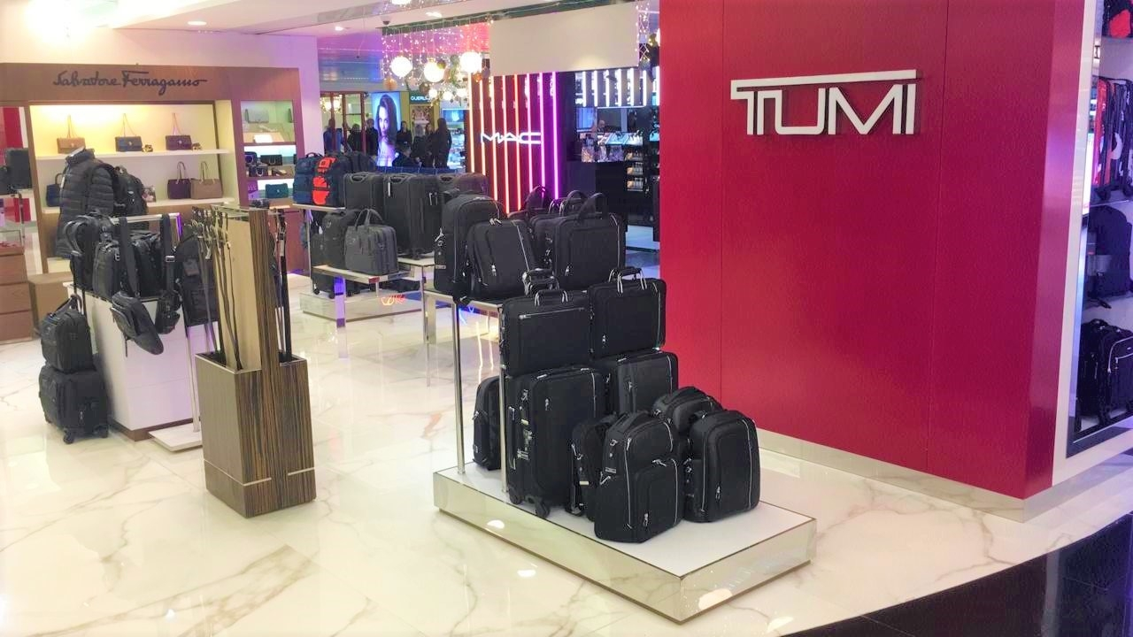 TUMI- Beirut Duty Free , Furniture Supply