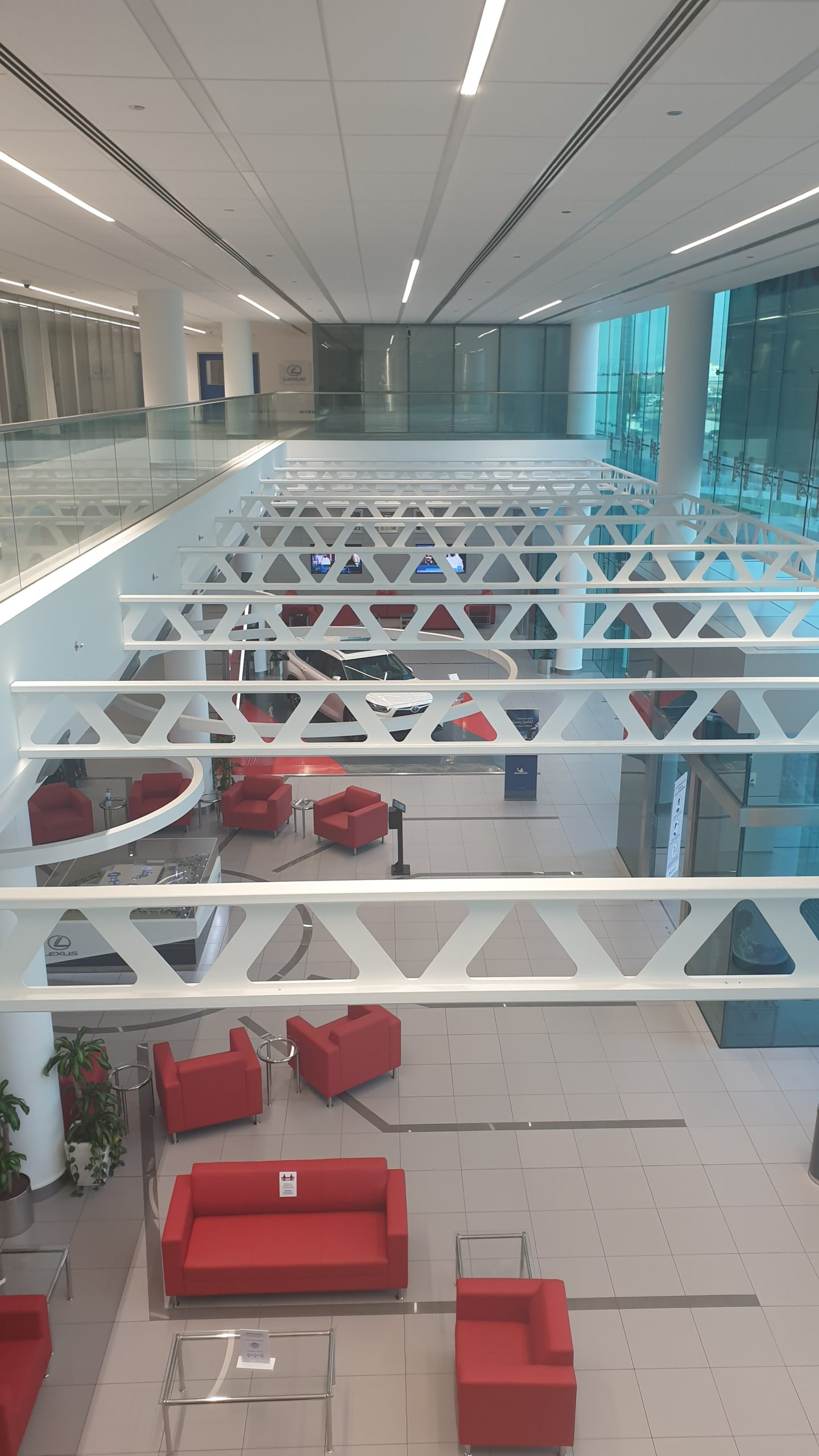 CPD  Office & Showroom (4000sqm) in Salmabad Fitout Works (EKKanoo),(Includes GIBCA PArtitions & Armstrong Ceiling Works)
