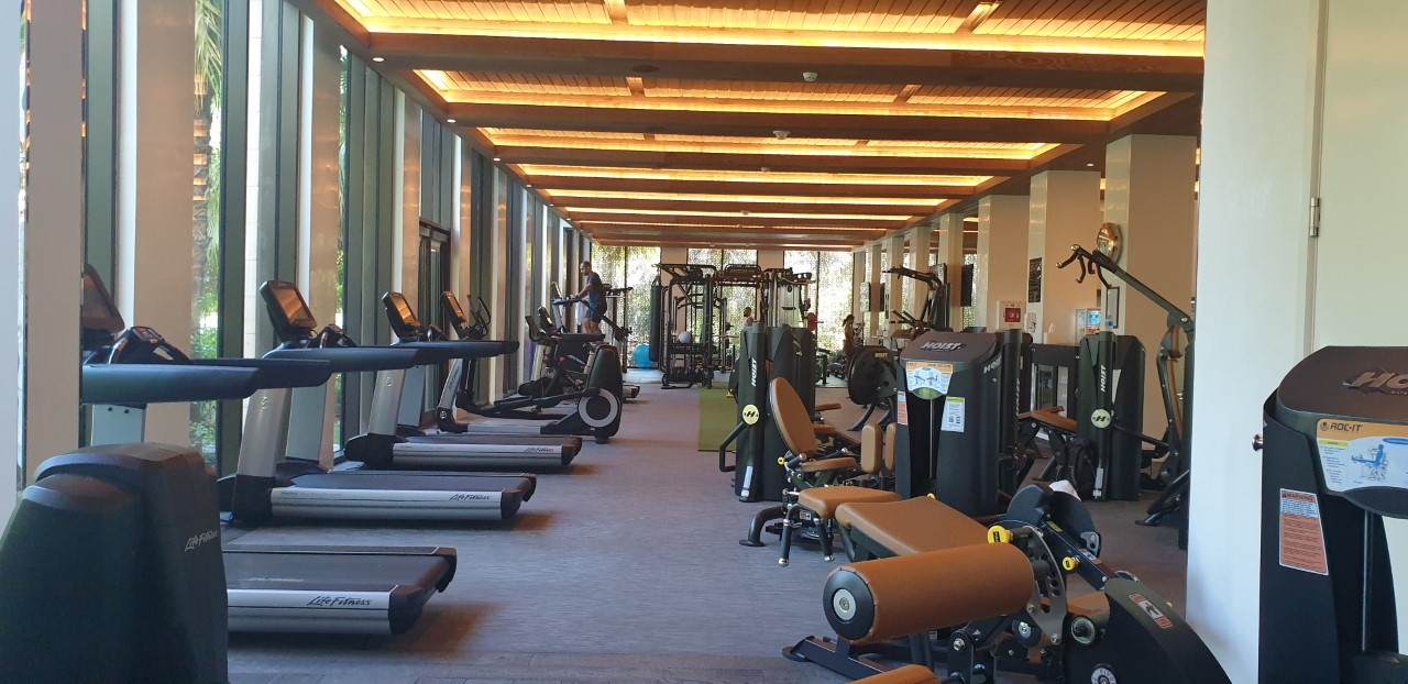 Four Seasons Gym Renovation 2020