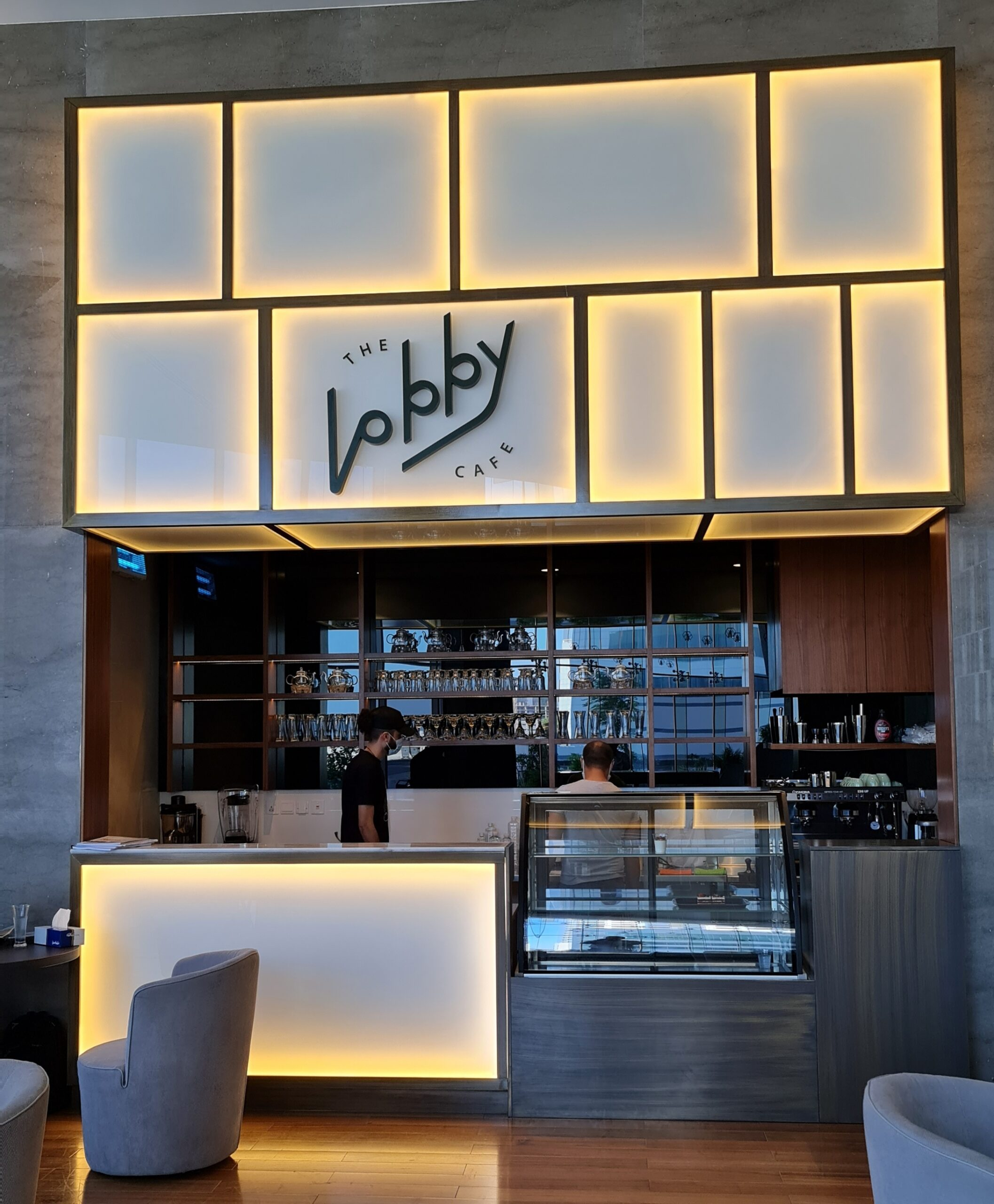 Lobby Cafe - Catamaran Building, Seef