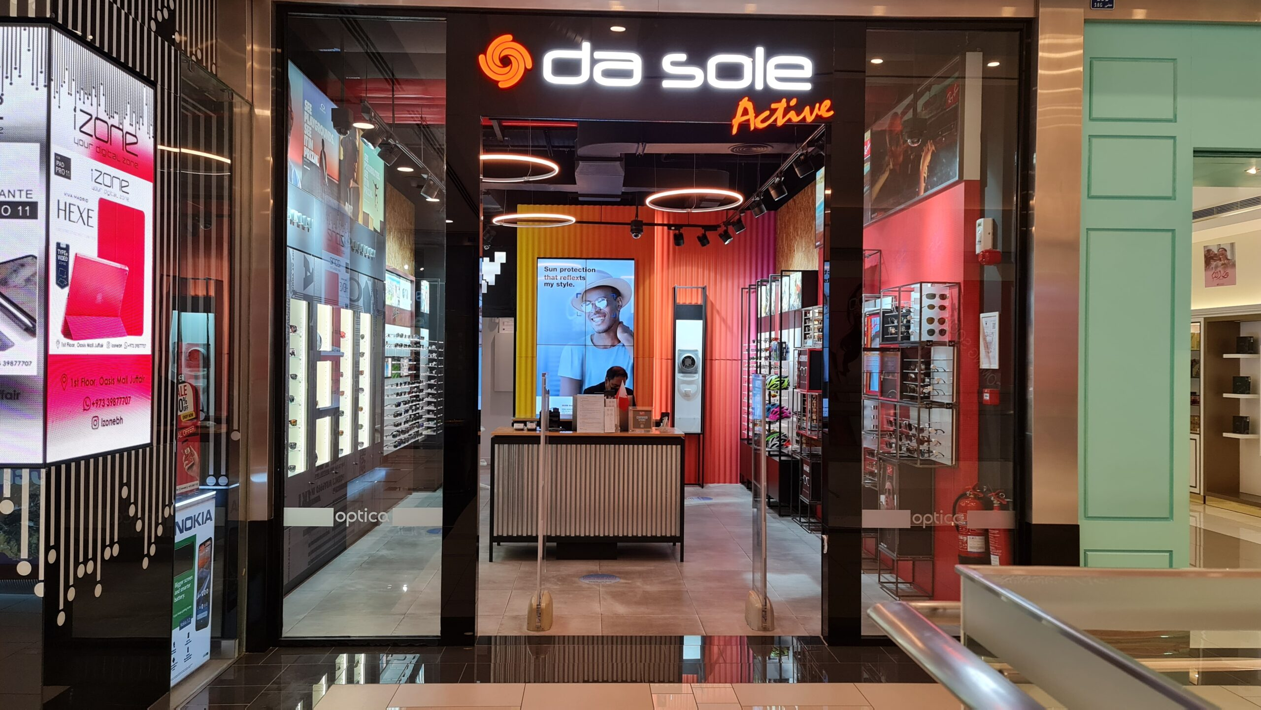 Da Sole - Oasis Mall Fitout Works